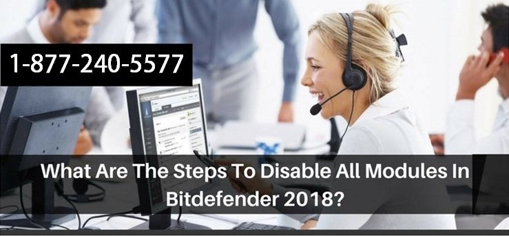 Disable All Modules in Bitdefender 2018